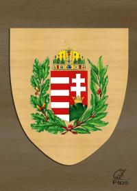 Címer - Magyar címer (lombos)