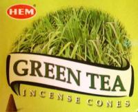 Kúp füstölő - zöldtea